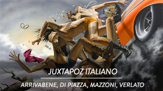 Juxtapoz italiano - Four Artists who defy convention