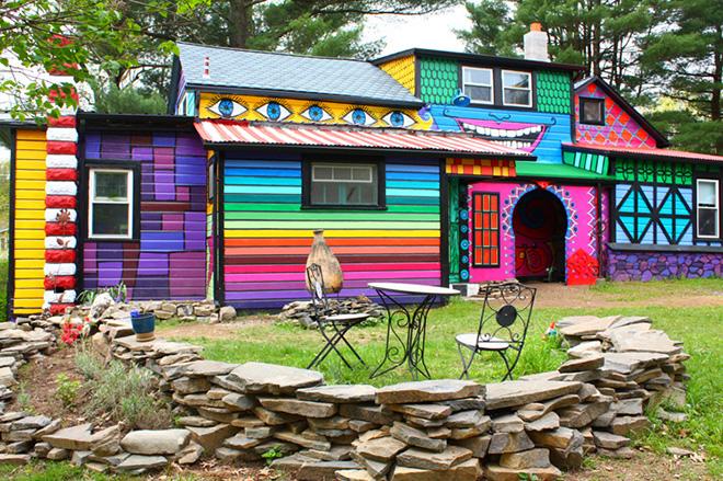 La casa psichedelica