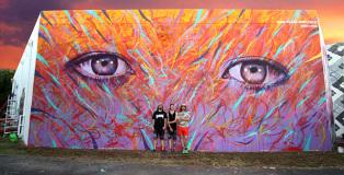 MADSTEEZ - Wall for Art Basel 2013