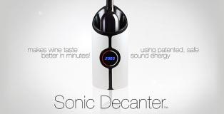 Sonic Decanter - Esaltare il gusto del vino in pochi minuti