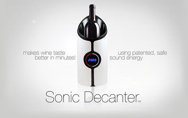 Sonic Decanter – Esaltare il gusto del vino