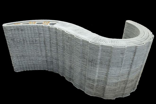 Skanska and Loughborough University, 3D concrete printing