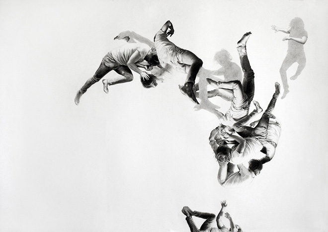 Leah Yerpe - Revelation, 39 X 28 Inches Graphite and Ink On Paper, 2009