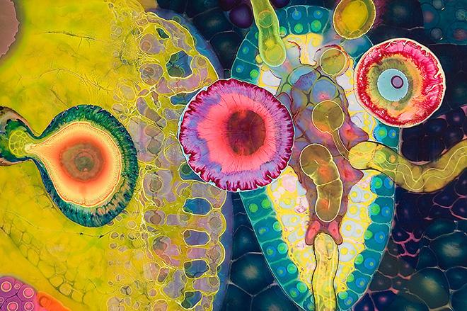 Bruce Riley - Psychedelic art