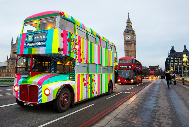 Magda Sayeg – 7up Knitted bus