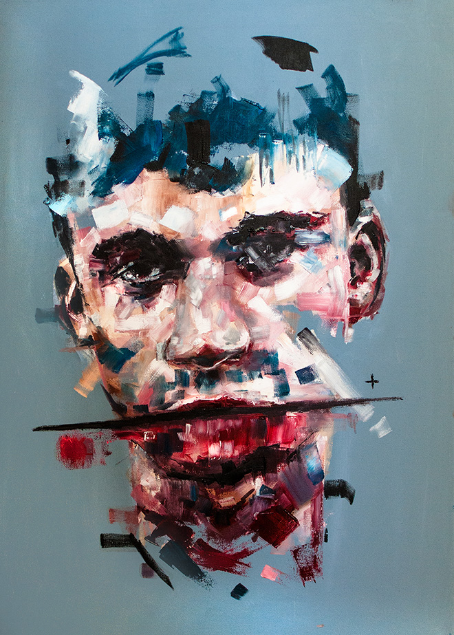 Davide Cambria, There Will Be Time To Murder And Create, Oil on canvas | 50x70CM