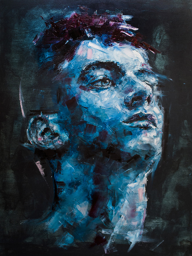Davide Cambria - Remain In Light, Oil on Canvas | 60X80CM