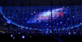 Festival of Lights in Lyon - Laniakea by Simon Milleret-Godet, Jérôme Donna. Photo by G.J. Plisson