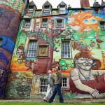 Kelburn Castle – Graffiti psichedelici