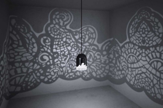 Linlin e Pierre-Yves Jacques - Lacelamps, la lampada che arreda