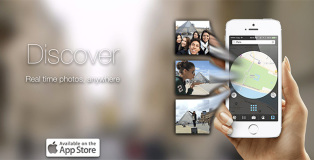 Scope - photos fast, by location, photo map, live streaming