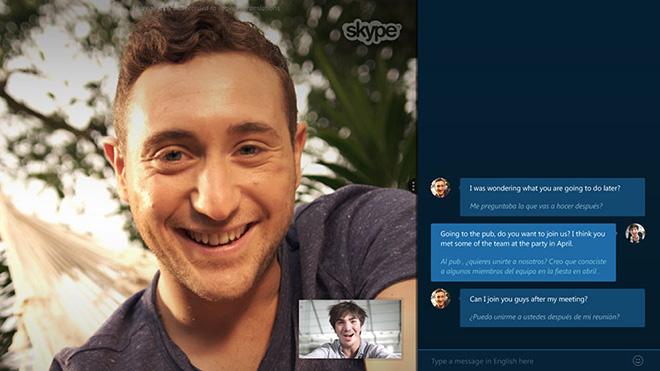 Skype Translator – Traduzioni in real time