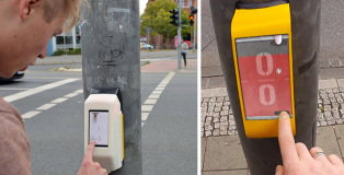 Actiwait (Street Pong) - L'attesa creativa al semaforo
