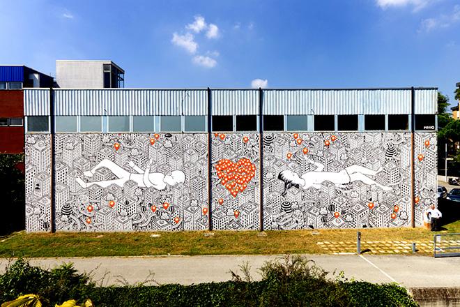 Street art, Maps, Subsidenze Festival