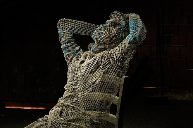 Edoardo Tresoldi - Sculture trasparenti, About a thought