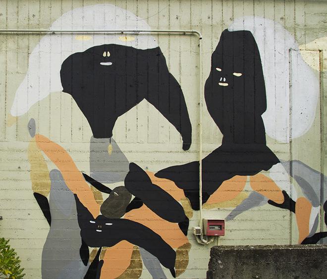 Wall painting 7Fragments