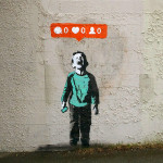iHeart – Social media street art