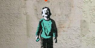 iHeart - Social media street art - Nobody likes me