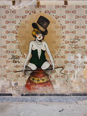 MissVan - Street art