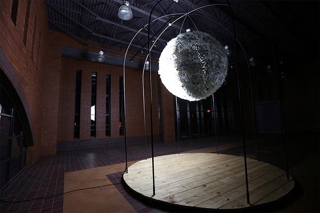 New Moon – Interactive Light Installation