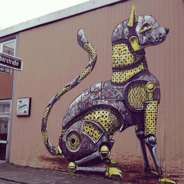 Pixel Pancho - street art