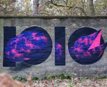 1010 - Street art, Vogelwurm Style