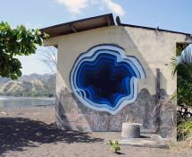 1010 - Street art - A wall somewhere in Panama