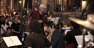 Artchipel Orchestra - L'esperimento di jazz italiano. Fonderia Napoleonica Milano 2011 - Ah Um Jazz Festival, Photo credit: Angela Bartolo