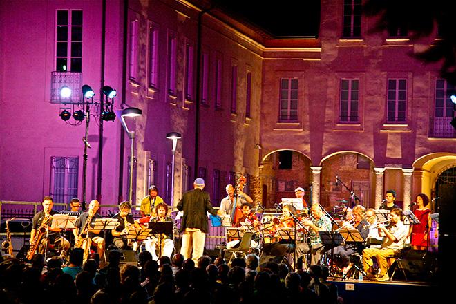 Artchipel Orchestra - L'esperimento di jazz italiano. Villa Schleiber Milano 2012 - Rassegna Ritmo Delle Città