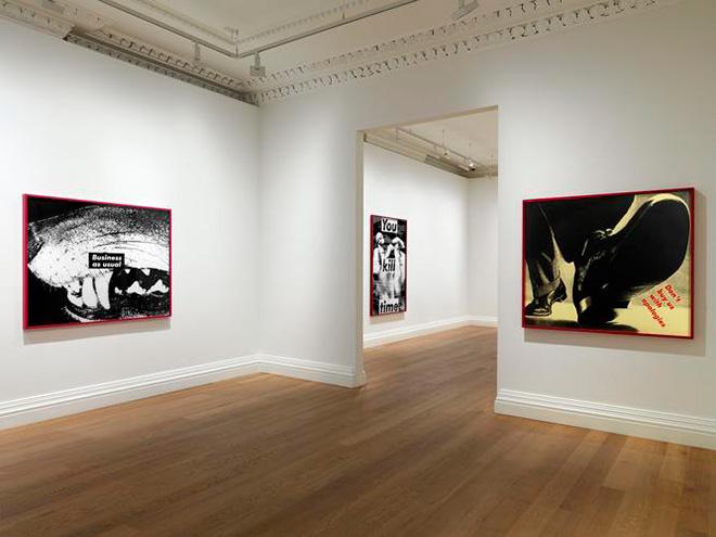 Barbara Kruger - Early works, Skarstedt London