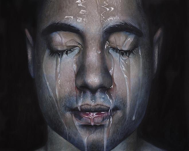 Erica Elan Ciganek - Miguel II, oil paint on canvas, 2015