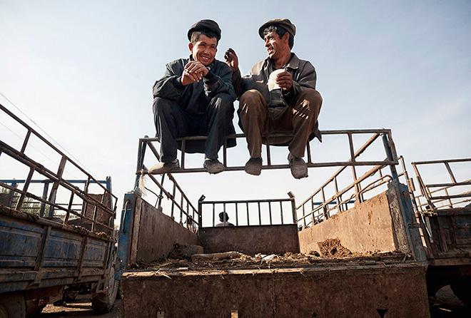 Matjaz Krivic - Urbanistan - Kashgar China