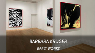 Barbara Kruger - Early works