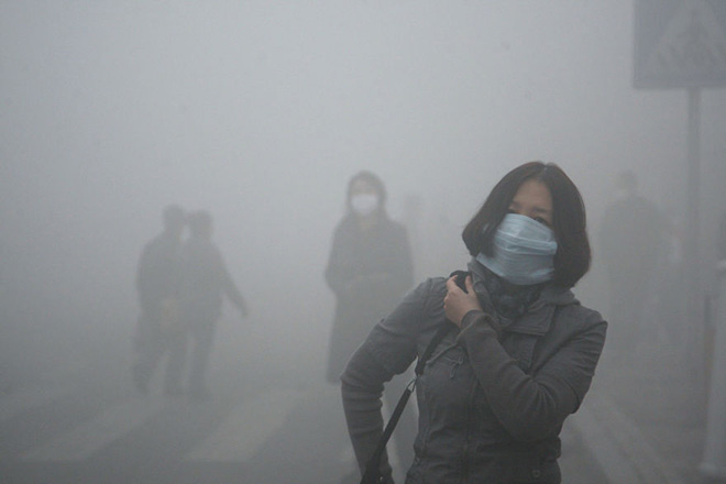 On January 12, 2013, air quality index levels in Beijing were so hazardous that they were beyond existing measurement