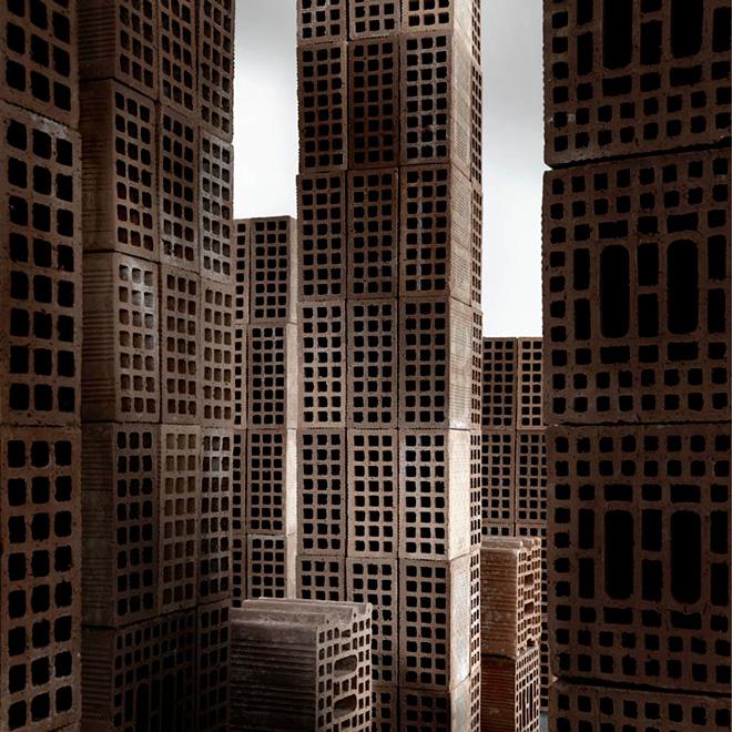 Matteo Mezzadri - Le città minime #3, © 2012, Pigmented Fine-Art Giclée, carta photo rag 100% cotone su alluminio d-bond, cm 100x100