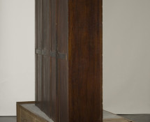 Doris Salcedo - Untitled, 2008. Wooden armoire, wooden cabinet, concrete, and steel, 86 5/8 x 95 1/4 x 40 in. (220 x 242 x 102 cm). Collection Museum of Contemporary Art Chicago, gift of Katharine S. Schamberg by exchange, 2008.20. Reproduced courtesy of the artist; Alexander and Bonin, New York; and White Cube, London.
