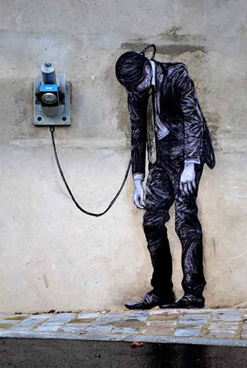 Reload (detail), street art - Paris