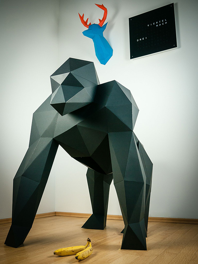Papertrophy – Papercraft Art for your home