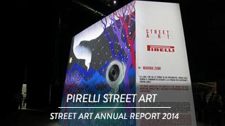 Pirelli - Street Art annual report 2014