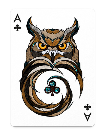 Ace of Clubs by Andreas Preis from Germany