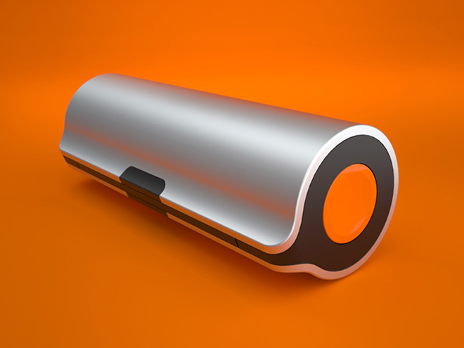 Rollable solar charger - WAACS design