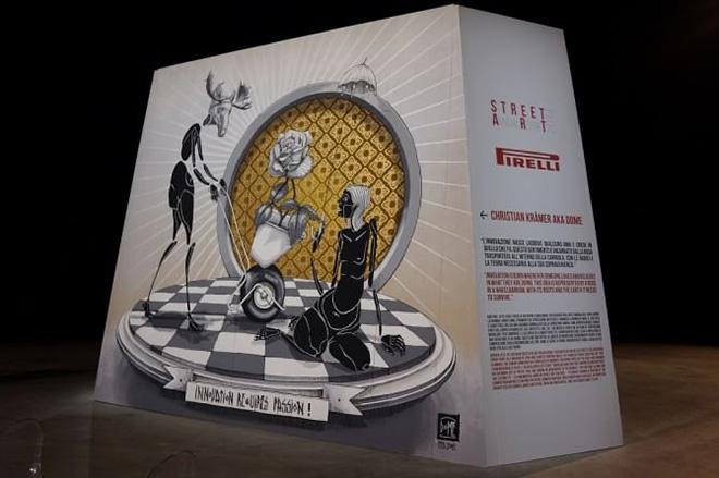 Pirelli - Street Art annual report 2014 - Christian Kraemer aka Dome