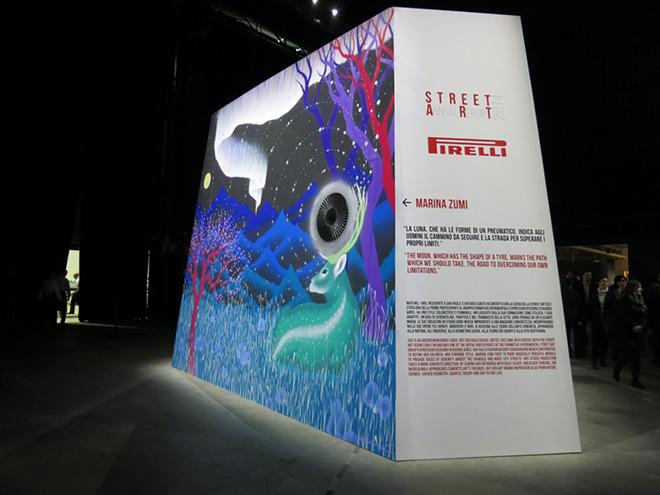 Pirelli – Street Art annual report 2014