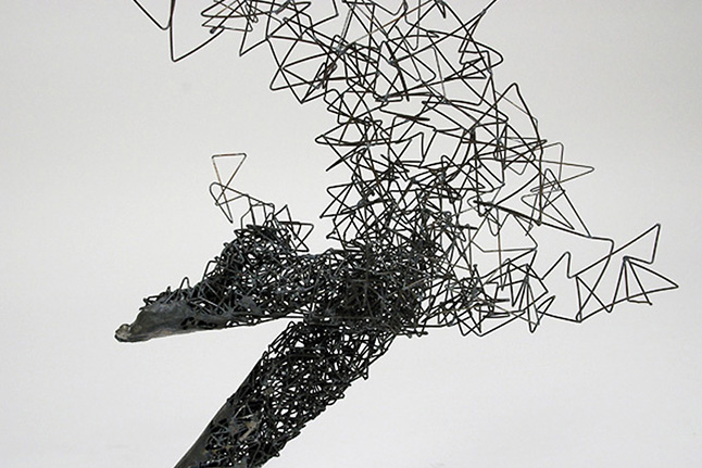 Tomohiro Inaba – Steel Wire Sculptures