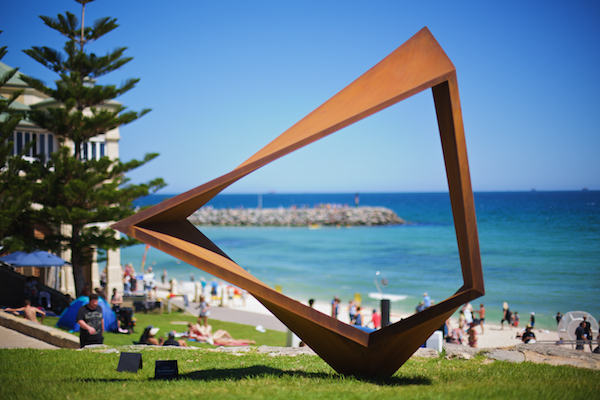 Benjamin Storch, constellation, Sculpture by the Sea, Cottesloe 2015. Photo Jarrad Seng
