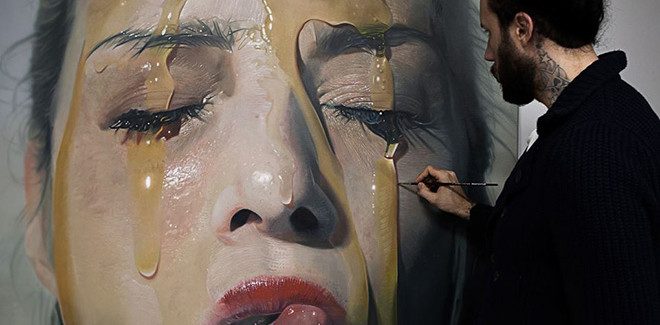 Mike Dargas – Pittura iperrealista