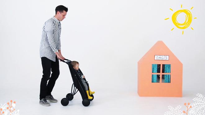 Påhoj - L'innovativo seggiolino da bici per bambini