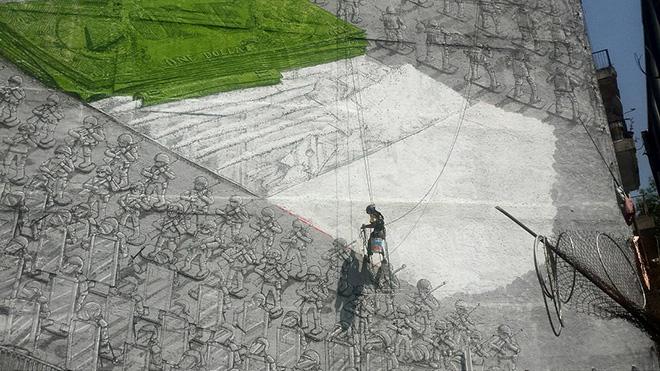 Blu - Il nuovo Murales in Messico