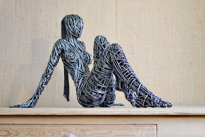 Richard Stainthorp – Wire sculptures