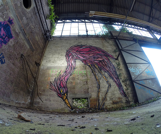Dzia - Street art geometrica